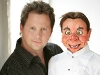 Ventriloquist Andy Gross with McElroy dummy