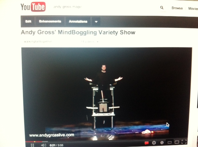 andy gross MindBoggling The Show video