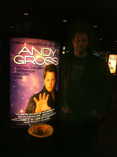 Comedian Andy Gross at Casino