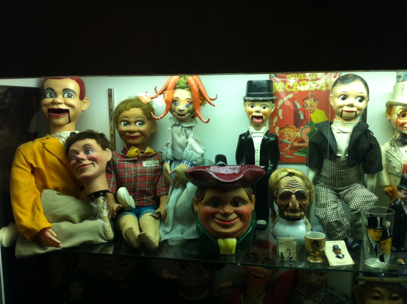 Andy Gross ventriloquism collection
