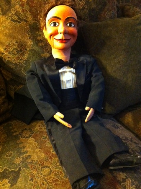 Chalie Mack hand carved ventriloquist dummy