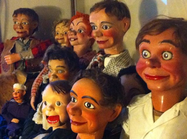 Antique Ventriloquist Dummies