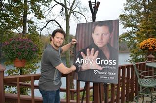 Comedian Andy Gross headlines the poconos